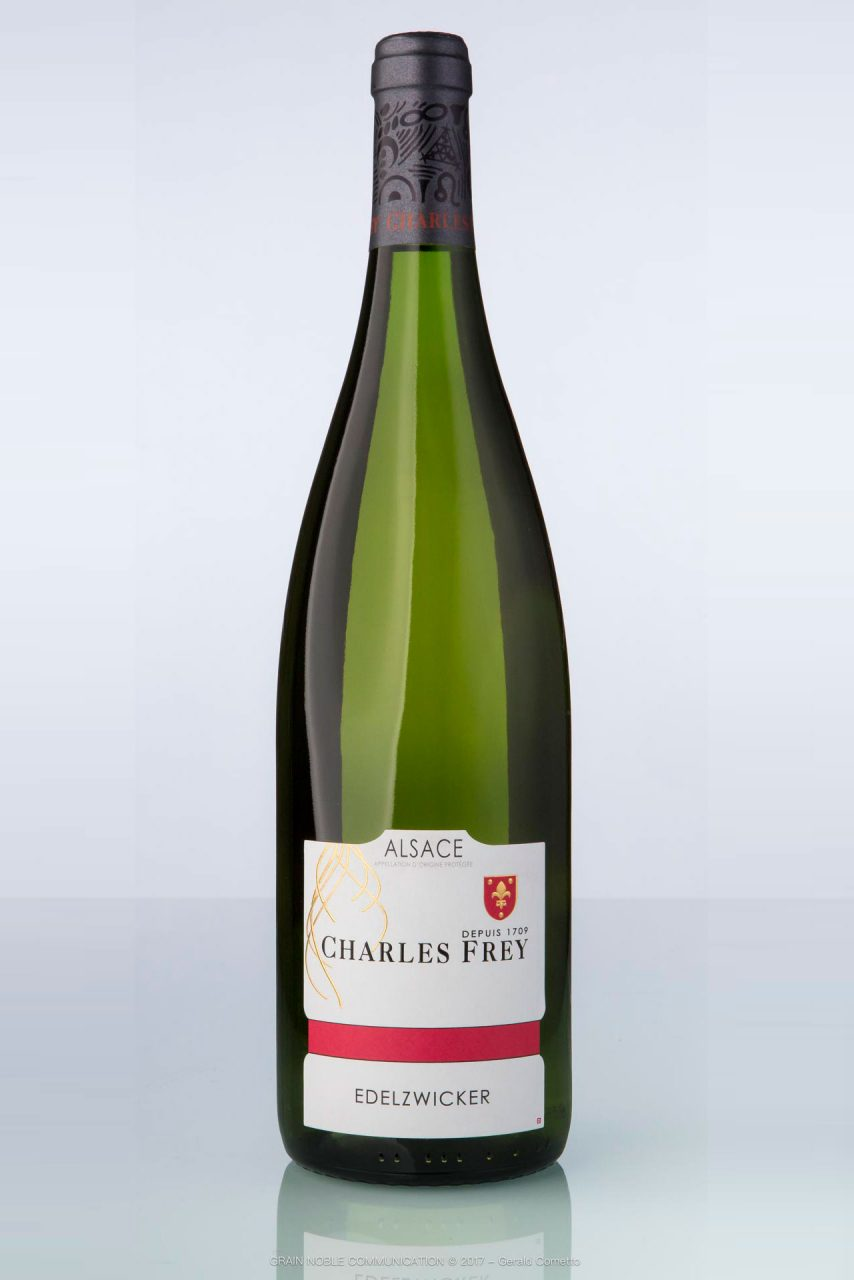 bouteille de vin d'Alsace Edelzicker Charles Frey