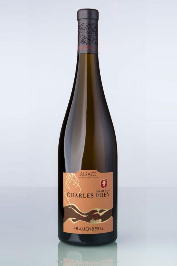 bouteille de vin d'Alsace assemblage Frauenberg Charles Frey