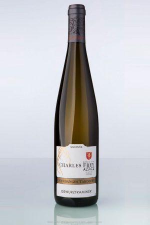 bouteille de vin d'Alsace Gewurztraminer vendanges tardivesCharles Frey