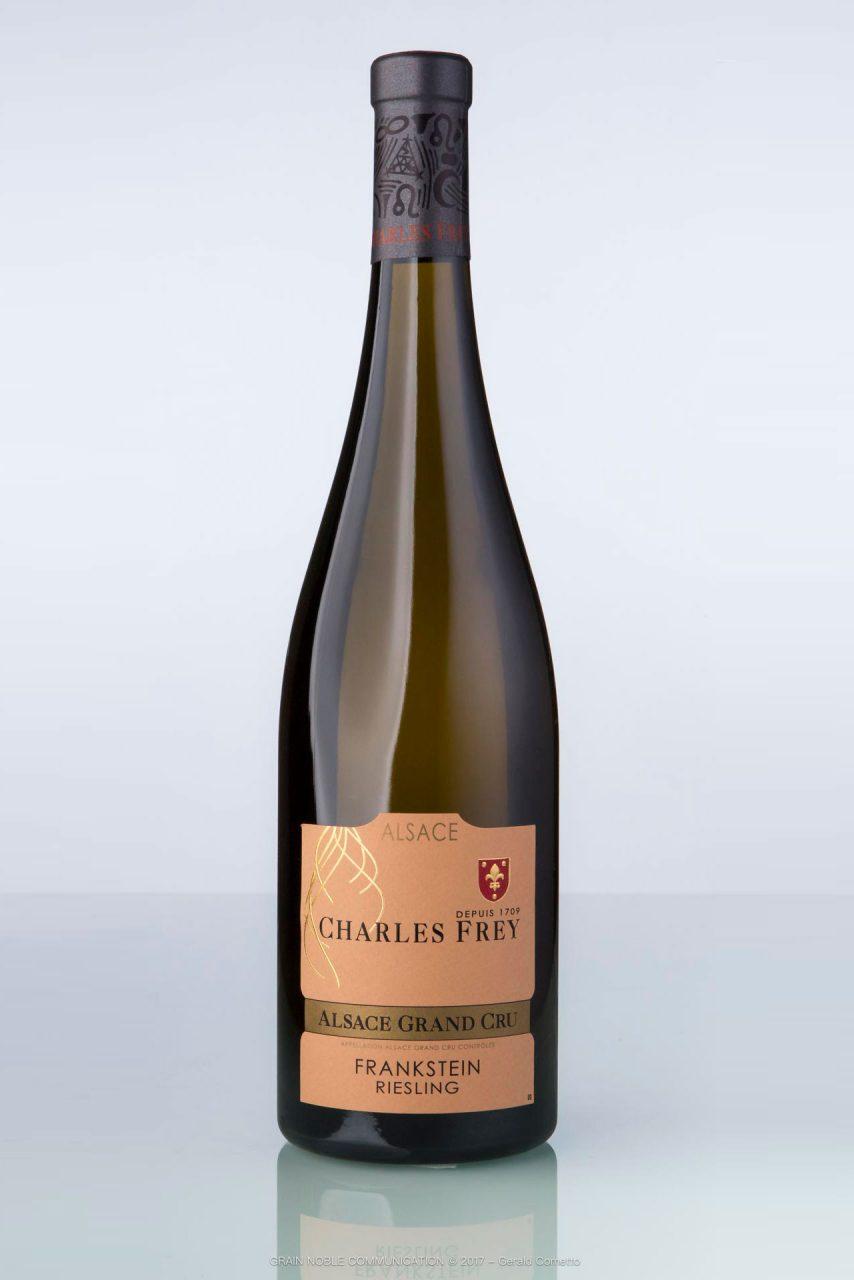 bouteille de vin d'Alsace Charles Frey
