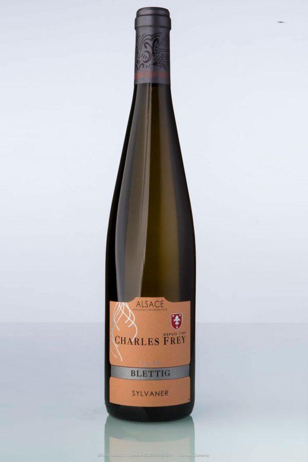 bouteille de vin d'Alsace Sylvaner Charles Frey