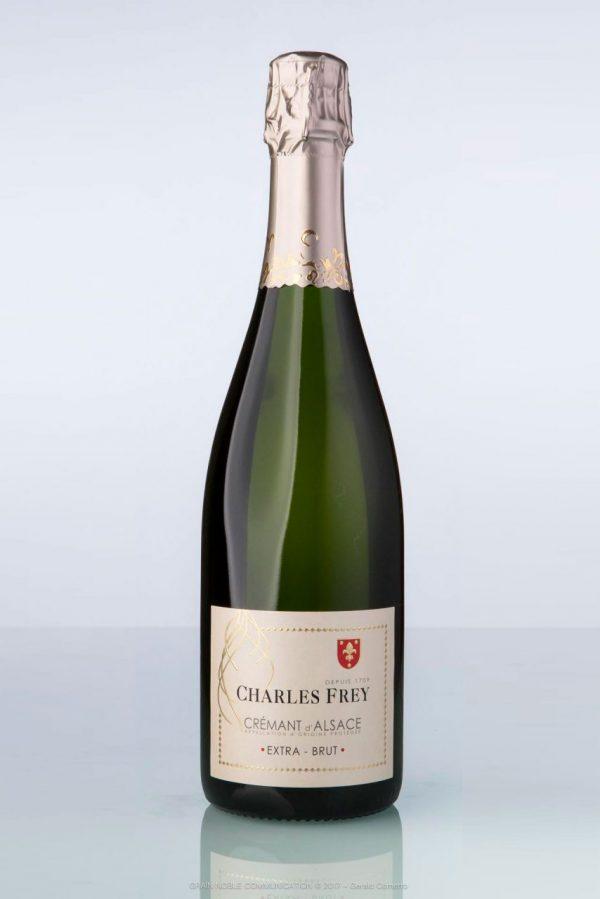 bouteille de Crémant d'Alsace Extra-brut Charles Frey