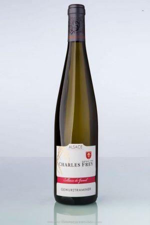 bouteille de vin d'Alsace Gewurztraminer Charles Frey