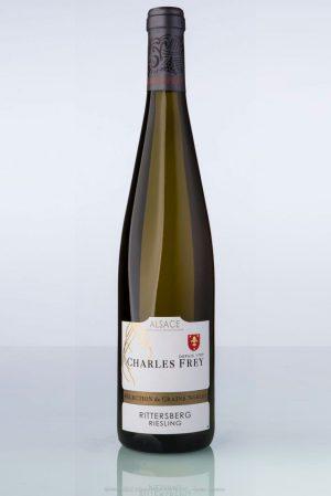 bouteille de vin d'Alsace RieslingCharles Frey