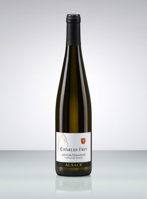 bouteille de vin d'Alsace Gewurztraminer